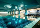 Нощувка на човек със закуска, обяд* и вечеря + МИНЕРАЛЕН басейн, СПА + масаж в хотел Селект 4*, Велинград, снимка 3