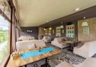 Нощувка, закуска и вечеря на човек + минерален басейн и релакс пакет в хотел Севън Сийзънс, с.Баня до Банско, снимка 5