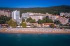 На ПЪРВА ЛИНИЯ в Златни пясъци. Нощувка на човек на база All inclusive + басейн, чадър и шезлонг на плажа в хотел Калиакра Палас****, снимка 8