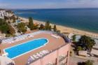 Нощувка на човек със закуска и вечеря на първа линия в хотел Лилия****, Златни пясъци + басейн, снимка 7