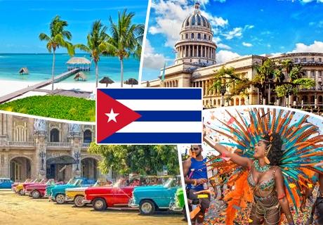 Самолетна екскурзия до Куба! Двупосочен билет + 10 нощувки на човек с изхранване + посещение на о. Кайо Санта Мария от Премио Травел.