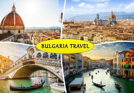 Екскурзия до  Италия - Венеция, Флоренция и Тоскана, Транспорт  4 нощувки на човек със закуски  от ТА България травъл