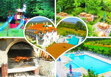 Лято 2019 в Долна Баня. 2 или повече нощувки на човек със закуска + минерален басейн и СПА в комплекс Долна Баня