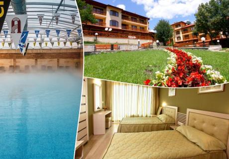 Делник в РЕНОВИРАНИЯ хотел Армира****, Старозагорски минерални бани! Нощувка на човек със закуска и вечеря + минерален басейн и СПА пакет