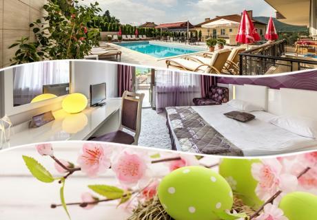Великден в хотел Енира****, Велинград! 3 или 4 нощувки на човек със закуски и вечери, едната празнична + минерален басейн и релакс пакет