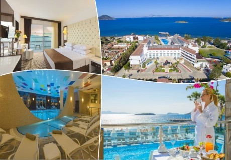 Море в Бодрум! 7 нощувки на база Ultra All inclusive + 3 басейна и СПА в хотел Grand Park Bodrum 5*