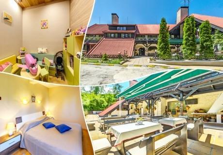 1, 2, 3 или 5 нощувки на човек със закуски и вечери* + сауна в хотел Бреза*** Боровец