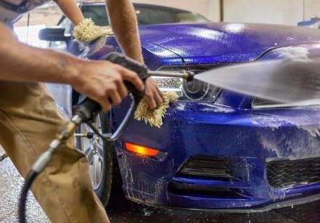 Вътрешно и външно почистване на автомобил само за 8.50 лв. от автомивка на бул. Рожен 23