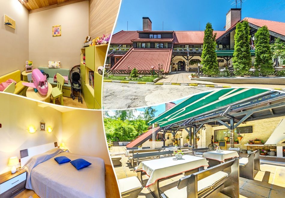 Нощувка на човек със закуска и вечеря* + релакс пакет в хотел Бреза*** Боровец
