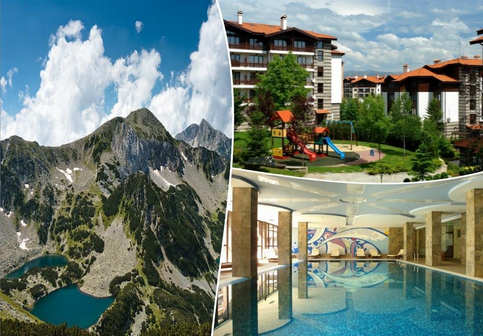 Уикенд през пролетта в Банско!  Две нощувки на човек със закуски и вечери + топъл басейн и релакс пакет в хотел Уинслоу Инфинити,
