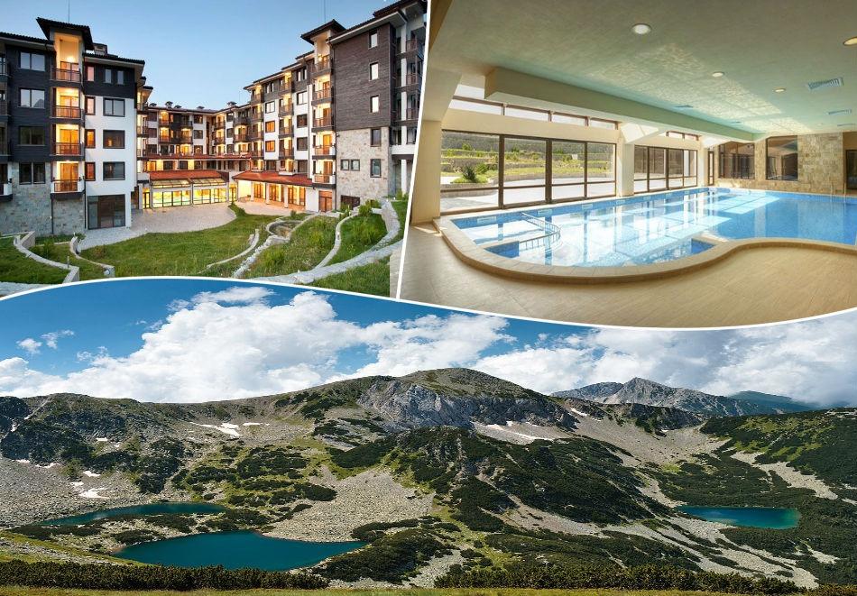 Нощувка на човек, закуска + басейн и релакс зона в луксозният хотел Сейнт Джордж Ски & Холидей****, Банско