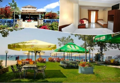 Лято 2020 на брега на морето в Халкидики, Гърция. Нощувка на човек със закуска и вечеря в хотел Ангелос Гардън, Tорони