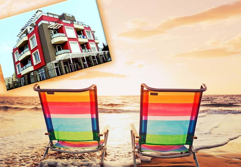 Нощувка със закуска на човек в хотел Хера, на 200м. от плажа в Лозенец