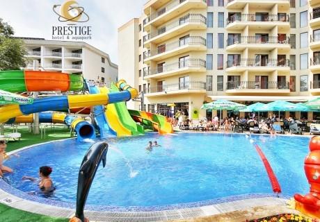 2+ нощувки на база All Inclusive + басейни и СПА в Престиж хотел и аквапарк****, Златни Пясъци