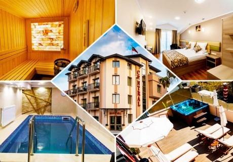 5 нощувки на човек със закуски + минерален басейн и уелнес пакет в хотел Централ, Павел Баня