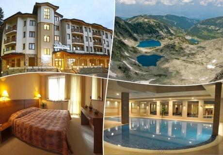 Лято в Боровец! Нощувка на човек на база All Inclusive Light  + басейн в хотел Вила Парк, Боровец