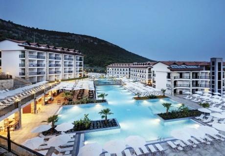Mоре в Турция! 7 нощувки на човек на база All Inclusive + басейн, аквапарк и СПА в хотел Рамада Резорт Акбук, Дидим. Дете до 13г. - БЕЗПЛАТНО!