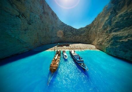 Почивка на Йонийската перла, остров Закинтос. Транспорт, 5 нощувки на човек със закуски и вечери от ТА България травъл