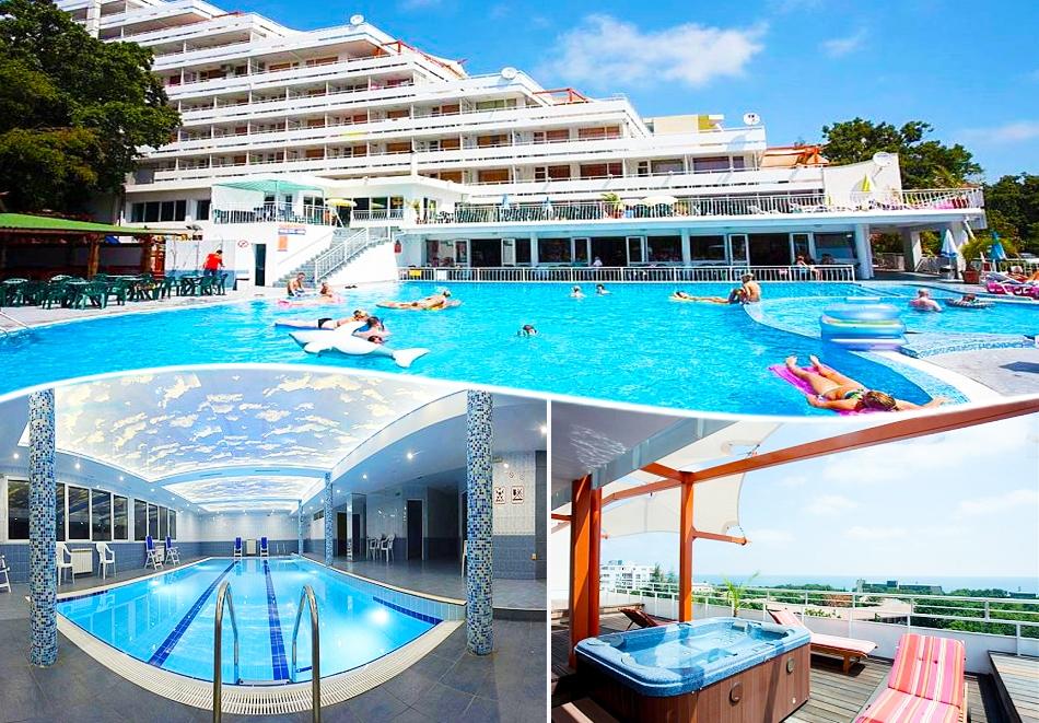 Нощувка на човек на база All Inclusive + басейн, джакузи, сауна и парна баня в хотел Плиска***