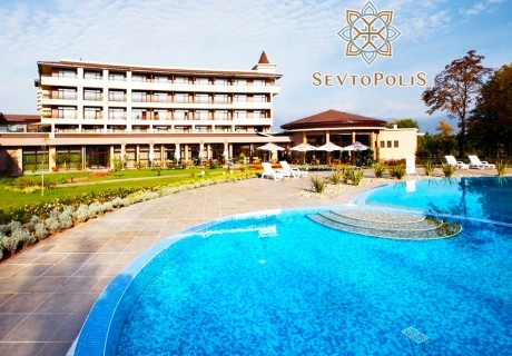 5 нощувки на човек със закуски и вечери + басейн с минерална вода и СПА от хотел Севтополис, Павел баня