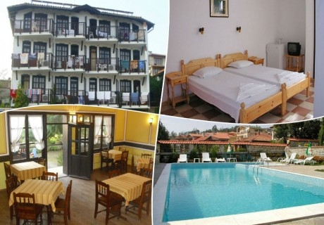 Лято в Слънчев бряг! Три или пет нощувки за двама, със закуски и вечери + басейн в хотел Аугуста - на 200м. от плажа