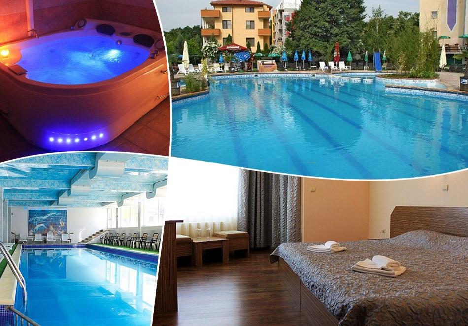 Почивка в Хисаря! 2 нощувки на човек със закуски и вечери + 2 басейна с МИНЕРАЛНА вода и релакс зона от хотел Албена***