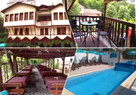 3 нощувки на човек със закуски и вечери + басейн от хотел Марио, Мелник