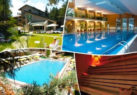 Нощувка за двама със закуска + минерален басейн и СПА пакет в хотел Велина**** Велинград