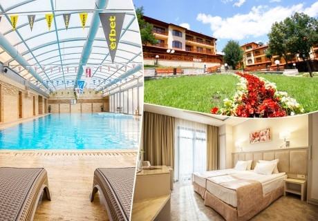 Делник в РЕНОВИРАНИЯ хотел Армира****, Старозагорски минерални бани! 2+ нощувки за двама със закуски + минерален басейн и СПА пакет