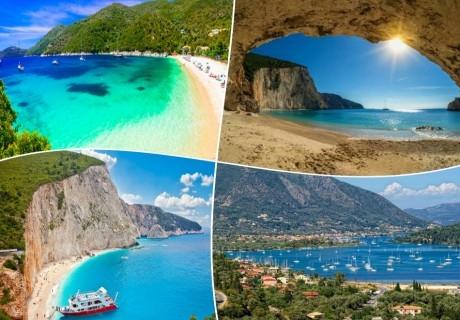 Лято на остров Лефкада,  Гърция. Транспорт, 5 нощувки на човек със закуски от ТА Далла турс