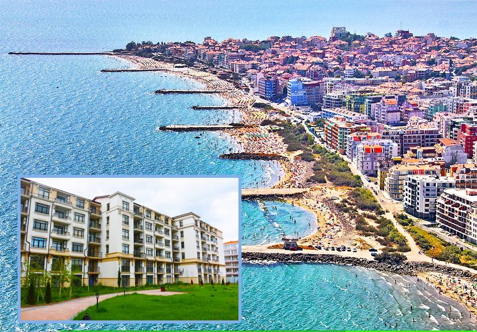 Лято 2020 в Поморие на 1 минута от плажа! Нощувка за до 4-ма в Апартамент Костови.