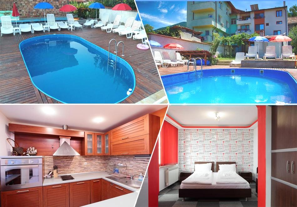 Нощувка на човек + отопляем басейн от къща за гости Елпида, Сапарева баня