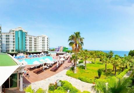 5 нощувки на човек на база All Inclusive + 2 басейна от хотел Didim Beach Elegance, Дидим, Турция. Дете до 12.99г. - БЕЗПЛАТНО