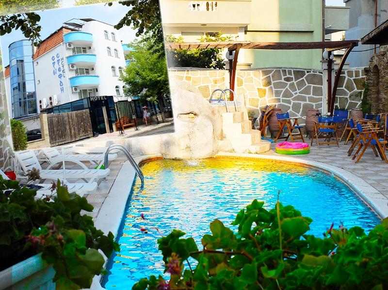 2+ нощувки на човек със закуски + басейн в хотел Свети Стефан, Приморско