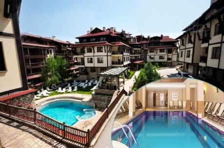 Септемврийски празници в Банско! 2 или 3 нощувки на човек на база All inclusive Light + басейн и релакс пакет в хотел Мария-Антоанета Резиденс****