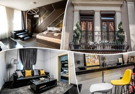 Нощувка за двама, трима или четирима в къща за гости Севън Сенс, Пловдив