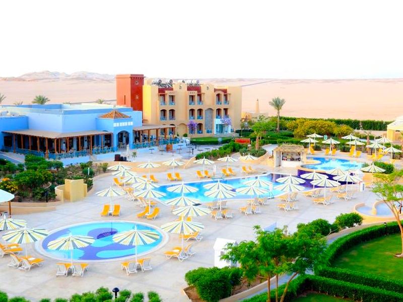 Почивка в Египет! Самолетен билет + 7 нощувки на човек на база All inclusive + басейни в хотел Lemon & soul garden Makadi, Хургада от Караджъ Турс