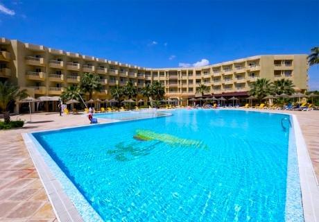 Септември в Тунис! Самолетен билет + 7 нощувки на човек на база All inclusive + басейни в хотел Houda Yasmine Hammamet 4*, Енфида-Хамамет от Караджъ Турс