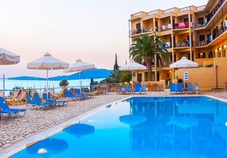Лято 2019 на първа линия на о. Корфу, Гърция! Нощувка в двойна стая комфорт на човек на база All inclusive + басейн  в хотел Belvedere***
