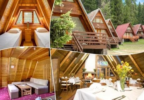 Почивка в Пампорово! 1, 3 или 5 нощувки за двама или четирима от вилно селище Малина