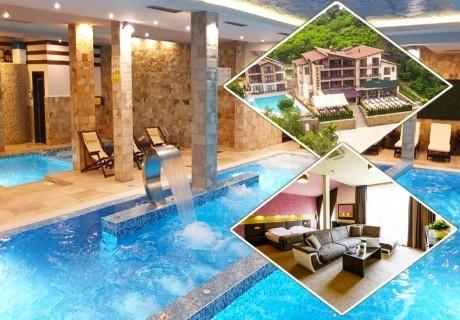 Септемврийски празници в Огняново. 3 нощувки на човек със закуски и вечери, едната празнична + НОВ басейн с минерална вода в хотел Огняново***
