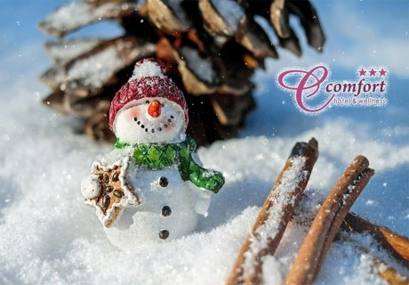Коледа в Хисаря! 3, 4 или 5 нощувки на човек със закуски + МИНЕРАЛЕН басейн и релакс пакет в хотел Си Комфорт***
