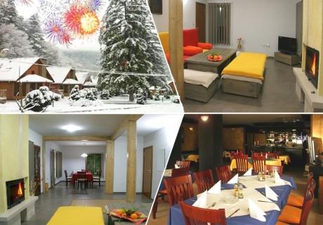 Нова Година в Рибарица! 2 или 3 нощувки на човек със закуски и вечери, едната Новогодишна в комплекс Грийн Вилидж