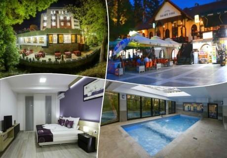 Нова година в Сокобаня, Сърбия! Транспорт, 3 нощувки на човек, закуски, обеди  и вечери, едната от които празнична в хотел Nataly SPA, oт ТА Джуанна Травел