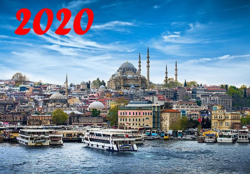 Нова Година в Истанбул! 3 нощувки на човек със закуски + транспорт + Новогодишна гала вечеря на яхта по Босфора от Караджъ Турс