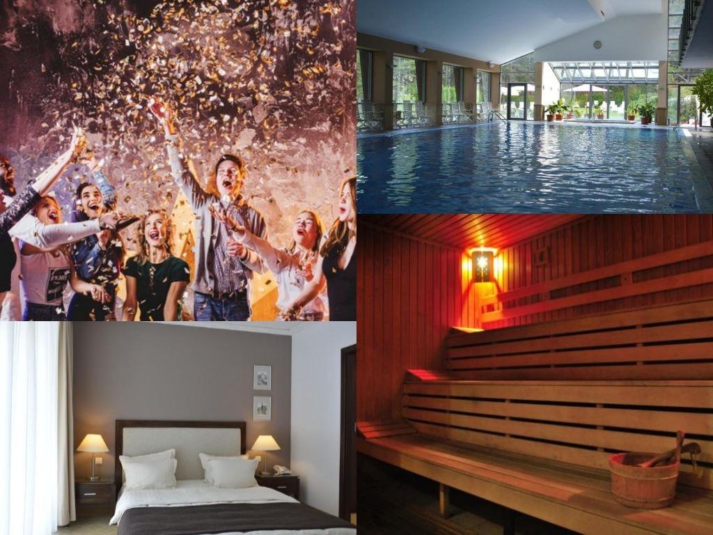 8-ми декември в хотел Велина****, Велинград! 2 нощувки за ДВАМА със закуски + минерални басейни и СПА пакет