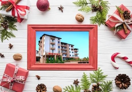 Коледа в Сандански! 2 нощувки на човек със закуски и вечери + релакс пакет в хотел Тайм Аут