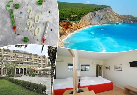 Нова година 2020 на лазурния остров Лефкада, Гърция! Транспорт, 3 нощувки със закуски и вечери на човек от ТА България травъл