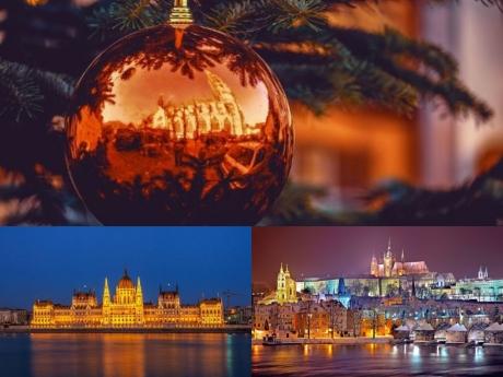 Предколедна екскурзия до Будапеща, Виена, Прага и възможност за Дрезден. 5 нощувки на човек със закуски и включен транспорт  с богата туристическа програма от Еко Тур