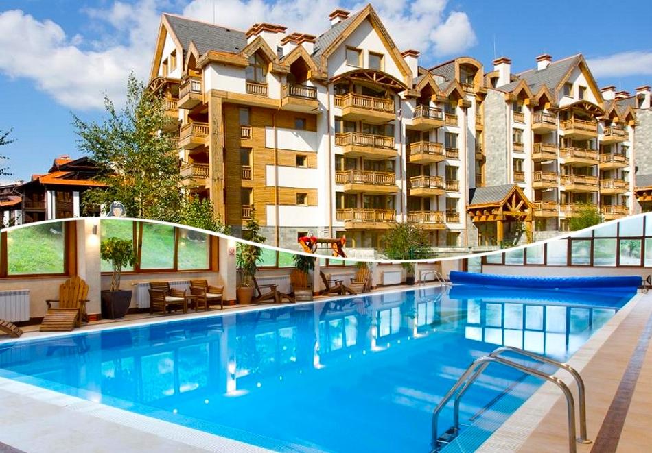 2+ нощувки на човек със закуски и вечери + огромен басейн и уелнес център в хотел Св. Иван Рилски****, Банско